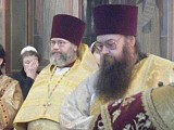 Father Ambrose with his brother, Archpriest Michael Taratuchin