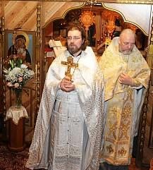 Priest Sergei Sveshnikov, Theophany, 2015