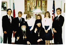 With Archbishop Anthony & Abbot Kyrill