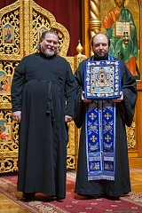 With Deacon Nicholai Olhovsky
