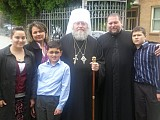With Metropolitan Hilarion