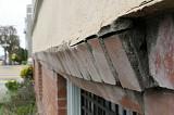 Damaged exterior