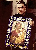 Brother Joseph Munoz (+1997), Guardian of the Iveron-Montreal Myrrh-streaming Icon
